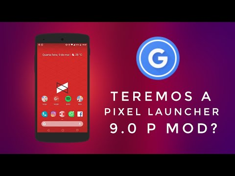 Saiu!! Pixel Launcher 9.0 DP4 (Beta 3) + Surpresa