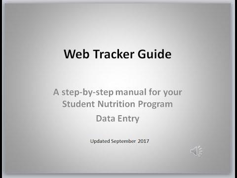 Webtracker Training Video