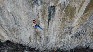 Kalymnos climbing: Secret Garden, Pomponidoux