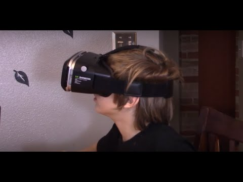 How to setup and use Virtual reality VR headset with Android phones review
