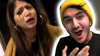 WE SAW A GHOST IN THE HOUSE! (SHE CRIED)
