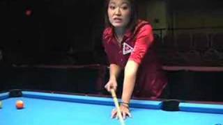 Pool Lessons & Billiard Instruction - Set & Slow Back Stroke