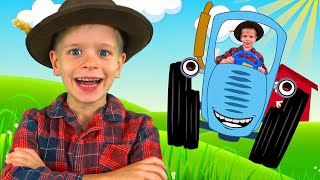 Old MacDonald Had a Farm - song kids nursery rhumes with Dima Family Show