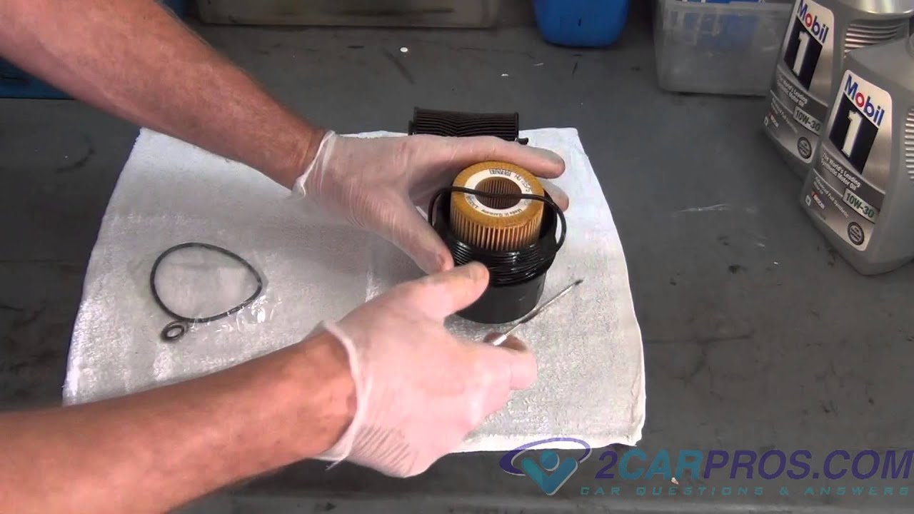 Oil Change  Filter Replacement BMW X5 20002006  YouTube