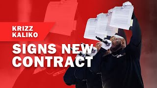 KRIZZ KALIKO SIGNS NEW CONTRACT WITH STRANGE MUSIC! | RED ROCKS 2019