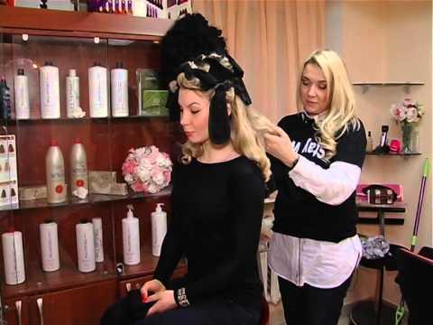 Как накрутить волосы с помощью носков