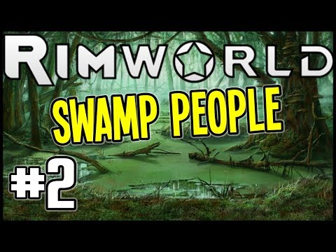 RimWorld Beta 18 - OUR FIRST RECRUIT and RAIDER - Rimworld Gameplay - Episode 2