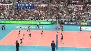 ワールドグランプリ 2008 日本vsトルコ - 第1セット