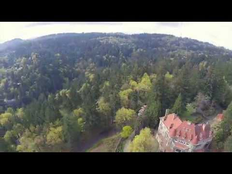 Pittock Mansion - NW Portland, Oregon - Drone Flight