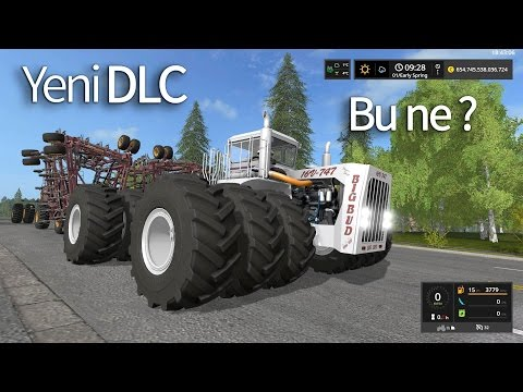 Bu nasıl birşey?  Yeni Big Bud DLC -- Farming Simulator 17 Türkçe