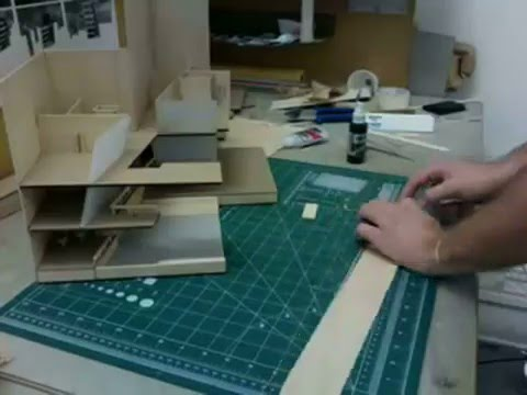 Architectural model making 2 youtube for 3d house model maker