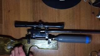Обзор на pcp винтовку на съёмных вышибных баллонах/Пневматика
