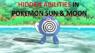 Hidden Abilities Pokemon Sun & Moon | Best HA finder Pokemon Sun & Moon