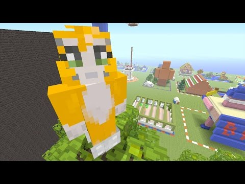 Minecraft: Xbox - Mega Building Time - Enchanted Forest {53}