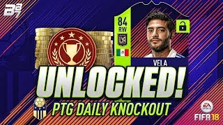 FREE PATH TO GLORY CARLOS VELA UNLOCKED! | FIFA 18 ULTIMATE TEAM