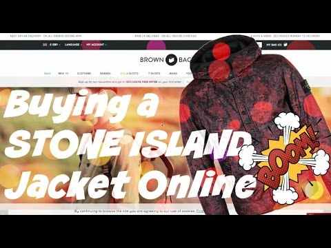 Buying STONE ISLAND Jackets Online | Weekly Buys |  Purchase Review