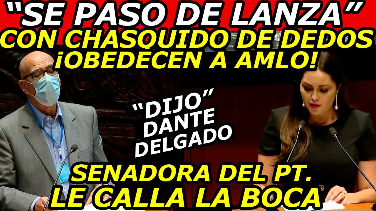 MORENA Para en Seco a Dante Delgado ESTO Dijo, Los Diputados con un chasquido Obedecen al Presidente