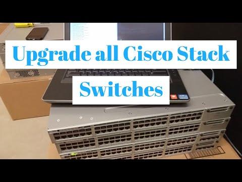Cisco Catalyst 3850 IOS Upgrade on All...