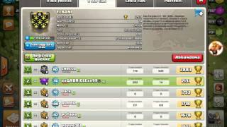 Bug clan fantasma!Clash of clans