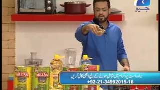 Aashaiya (caesar Salad & Chicken Peri Bites) Part 1