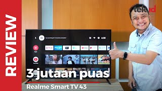 Review Realme Smart TV 43, enak buat nonton streaming di layar gede