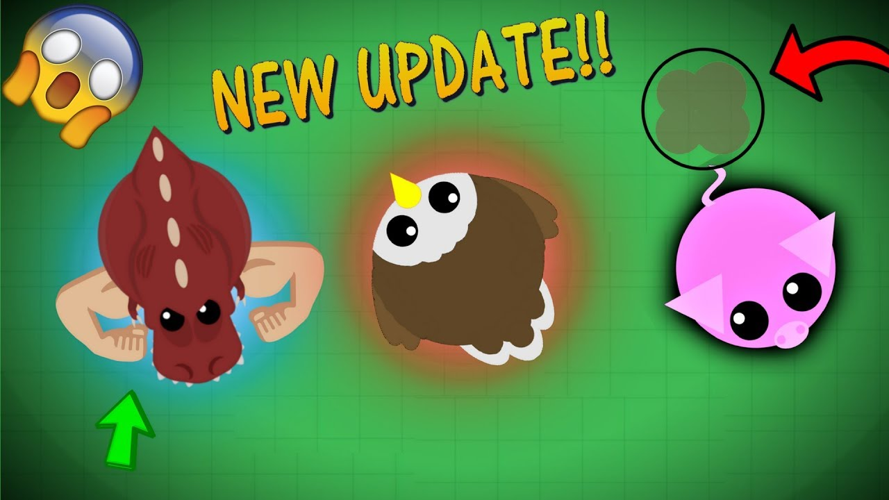 mope io upcoming mopelution update eagle t rex buff pig