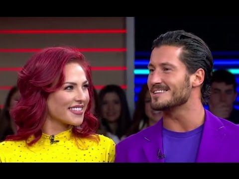 Dancing With the Stars' Val Chmerkovskiy, Sharna Burgess Interview