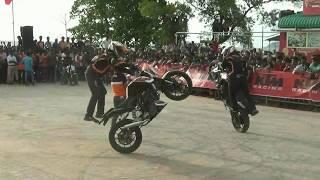 KTM RC 200 | KTM Duke 200 | KTM Stunt Show 2017 in Karwar | Goa | Karnataka | Must Watch HD