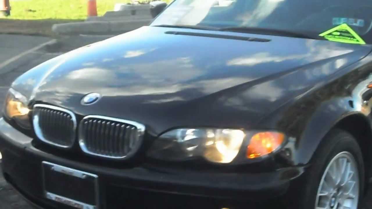 2003 bmw 325xi, 4 door, auto, 6cyl, all wheel drive, jet black