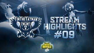 Fortnite Battle Royale Highlights #9 | TimTheTatman (ft. Ninja, Dr Lupo & SypherPK)