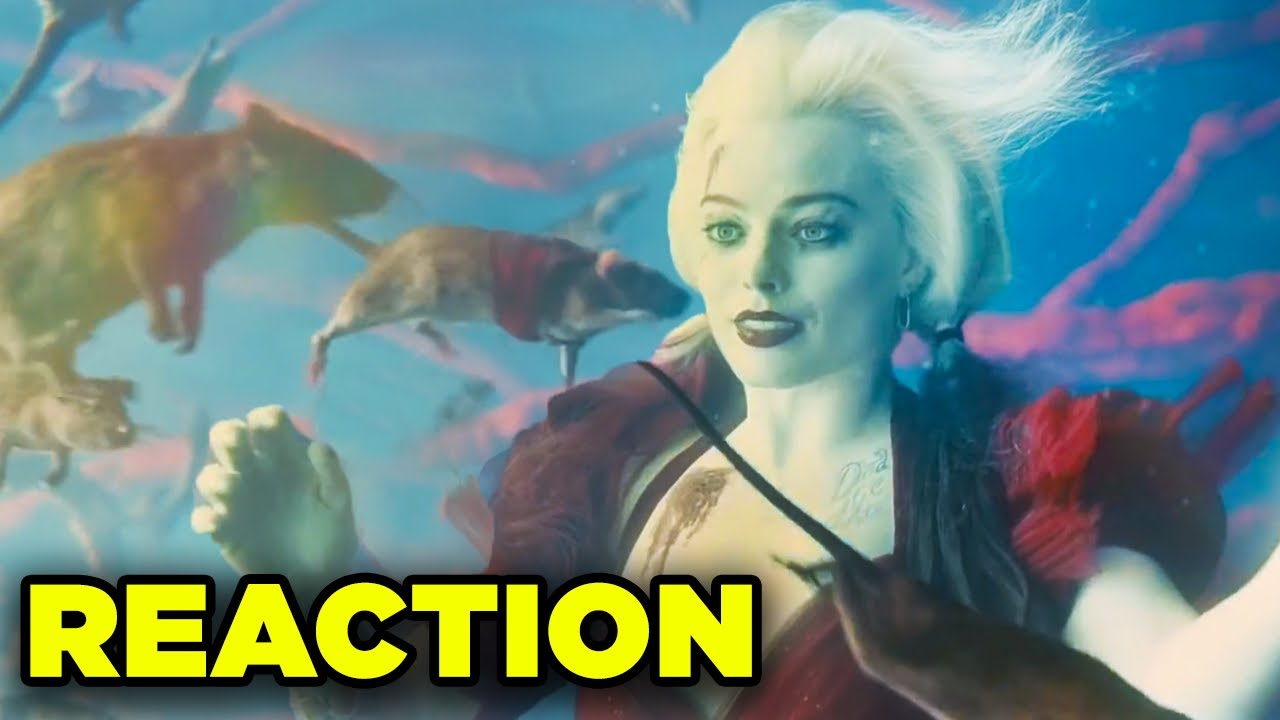 Suicide Squad Trailer REACTION! Early Access Trailer First Thoughts!