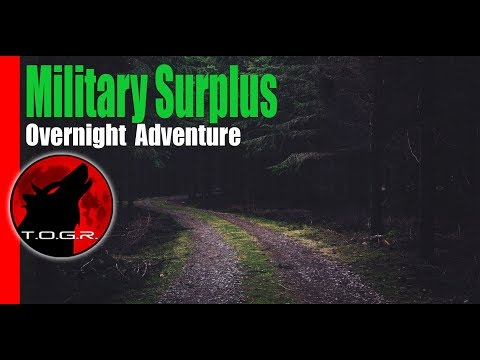 Startled!!! - High Road - Military Surplus Overnight Adventure