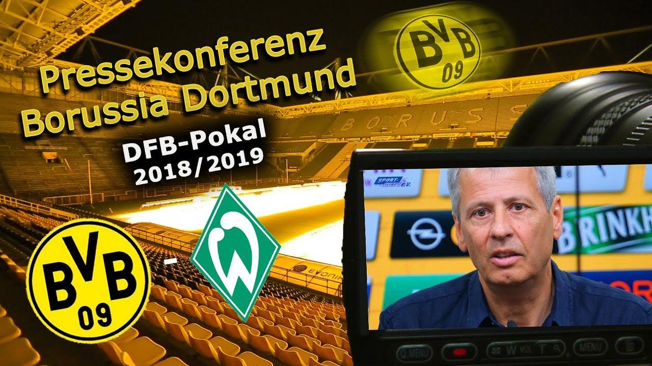 Borussia Dortmund - SV Werder Bremen: Pk mit Lucien Favre und Michael Zorc