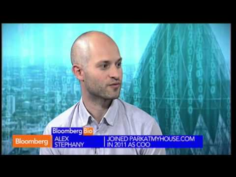 Alex Stephany, CEO of JustPark on Bloomberg TV - YouTube