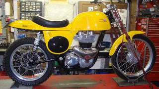 Matchless G15 Engine in Rickman Metisse Frame by Randy