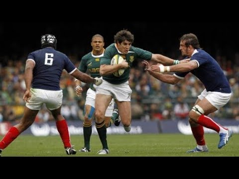30 Great Springbok Tries Against France