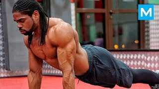 EXPLOSIVE WORKOUT MONSTER - Walid Yari | Muscle Madness
