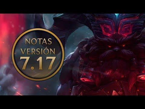Notas de la versión 7.17 - Ornn, mejoras a Zed, Urgot y Leona y guardines de las estrellas.