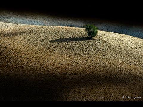 Val d'Orcia (Toscana) in autunno- quando la bella terra si addormenta...!