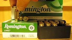 40 SW Caliber Remington UMC 180 grain FMJ Target ammo - L40SW3 at SGAmmo.com