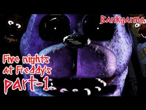 คืนแรกแบบไม่รู้อีโหน่อีเหน่...ลั่นห้องสิครับ ;w; :-Five Nights At Freddy's Part 1