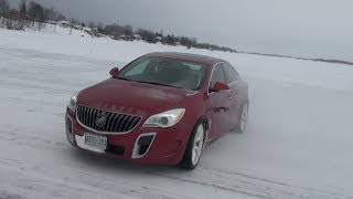 2014 Buick Regal GS AWD Icy & Snowy Canadian Misadventure & Review