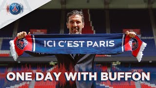 ONE DAY WITH GIGI BUFFON