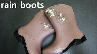 장화/레인부츠/장마철 신발/rain boots
