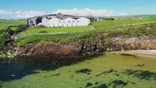 The Dram Drone Visits Scapa Distillery