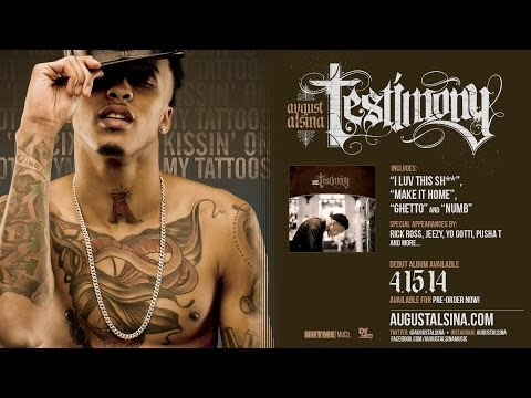 "August Alsina- ""Kissin' On My Tattoos"" Pre-Order 'Testimony' Now!!"