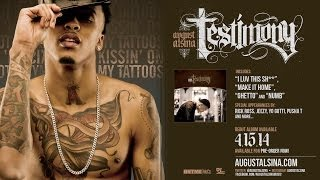 august alsina kissin on my tattoos pre order testimony now