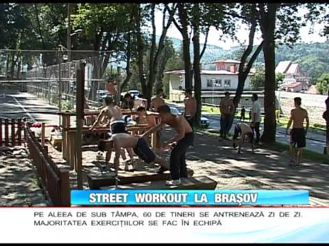 Street Workout Romania - Antena1