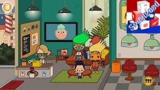 TOCA LIFE: CITY #2 App voor kinderen - TOCA BOCA KAPSALON - Speel met mij apps en games