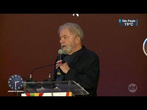 Pedido de prisão de Lula causa repercussões em Brasília | SBT Notícias (06/04/18)